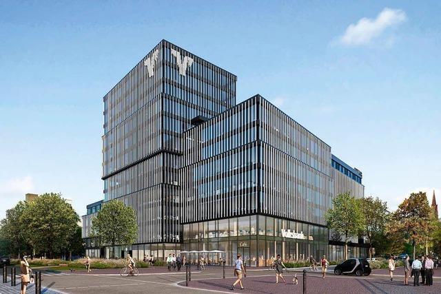 Volksbank Freiburg legt Grundstein für neue Unternehmenszentrale