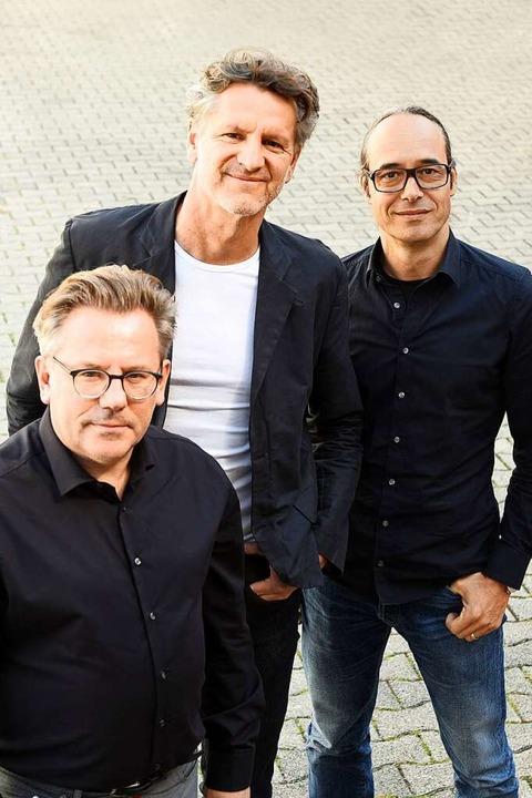 Manfred Piribauer, Wolfgang Borgards und Marc Lösch (von links)  | Foto: Rita Eggstein