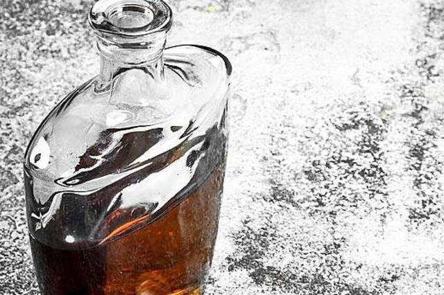 Ein Liter Whiskey, dann setzt er zum Überholen an
