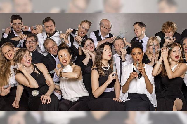 Jazzchor Freiburg gastiert mit nagelneuem Programm