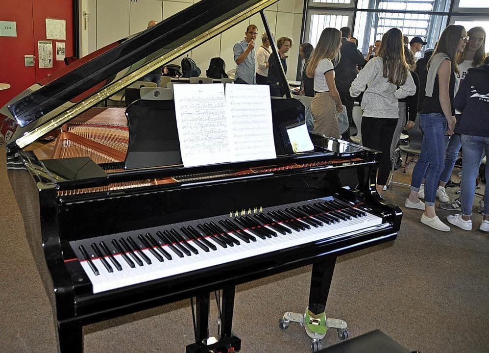 <BZ-FotoAnlauf>Faust-Gymnasium Staufen: </BZ-FotoAnlauf>Der neue Flügel  | Foto: Rainer Ruther