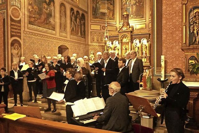 Viel Beifall in der Kirche St. Hilarius
