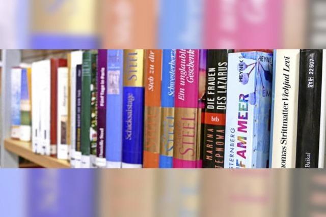 Rekordschau in den Bücherregalen
