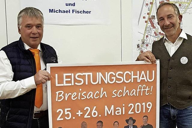 Gewerbeverein stellt Pläne für die Leistungsschau am 25./26. Mai 2019 vor