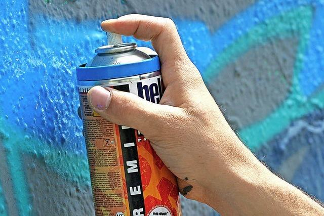 Mit Musik, Spielen und Graffiti-Aktion
