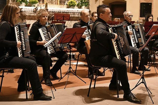 Harmonikakonzert in Hofweier