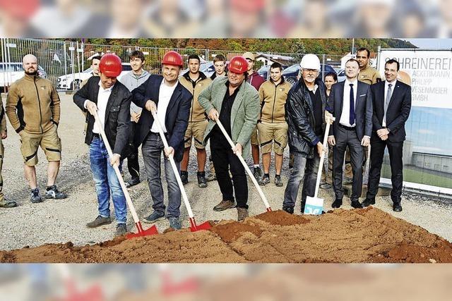 Neubau soll im Mai 2019 fertig sein