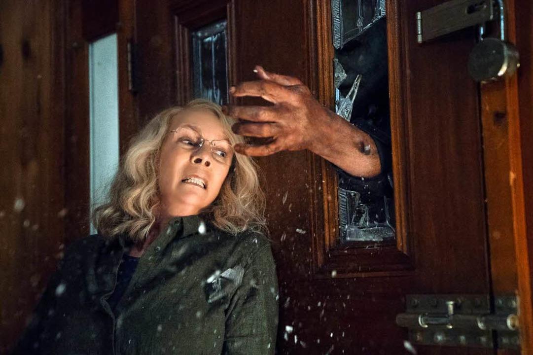 Vom Horror gezeichnet: Laurie (Jamie Lee Curtis)  | Foto: dpa