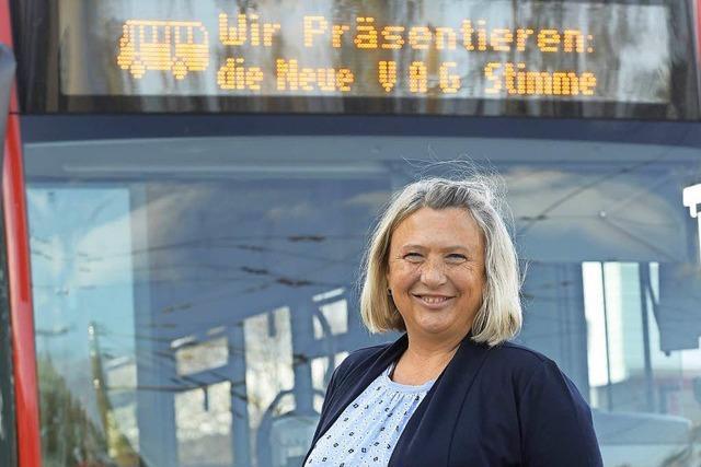 Michaela Albrecht ist ab sofort die Stimme in Bussen und Bahnen