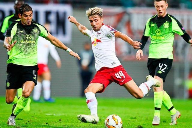Leverkusen verliert und Leipzig gewinnt in der Europa League