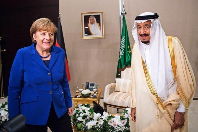 Merkel spricht mit saudischem König - Khashoggi-Tötung verurteilt