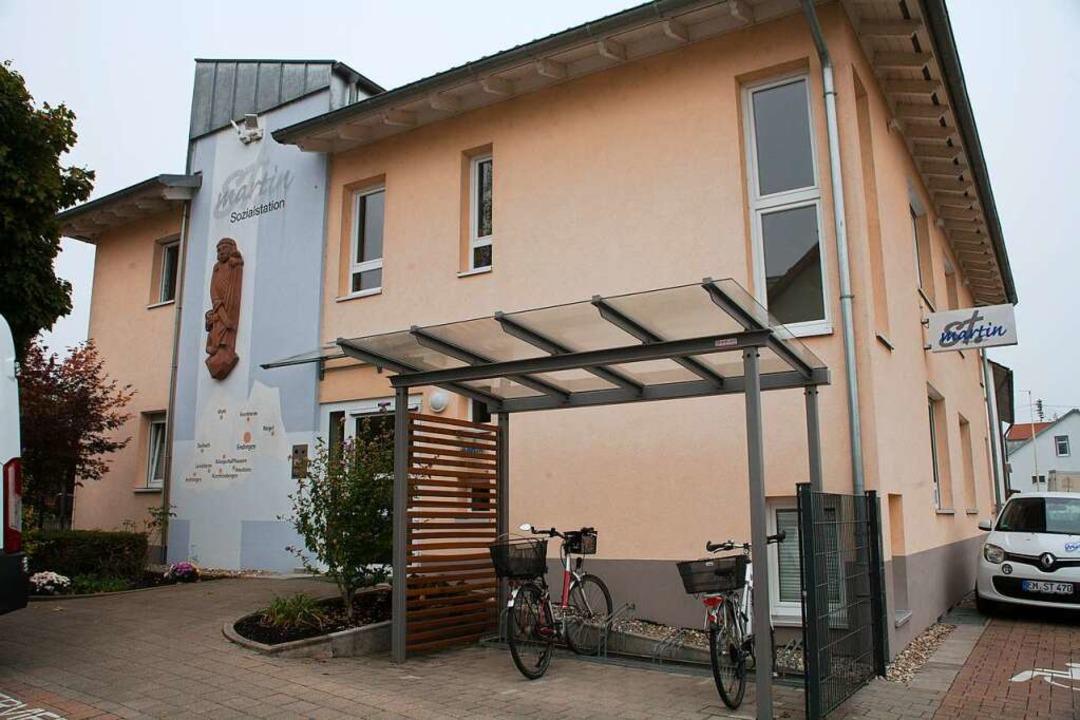 Station 4: Die Sozialstation St. Martin  | Foto: Martin Wendel