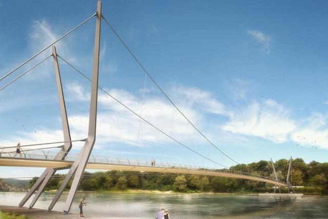 Bau des Rheinstegs steht wegen Mehrkosten wieder auf der Kippe