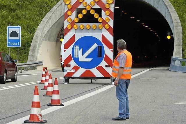 A98: Der Nollinger-Berg-Tunnel ist wieder geöffnet