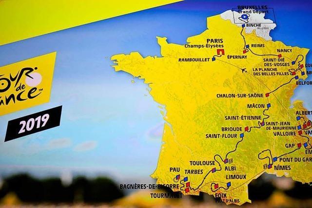 Tour de France 2019 kommt nach Colmar und Mulhouse