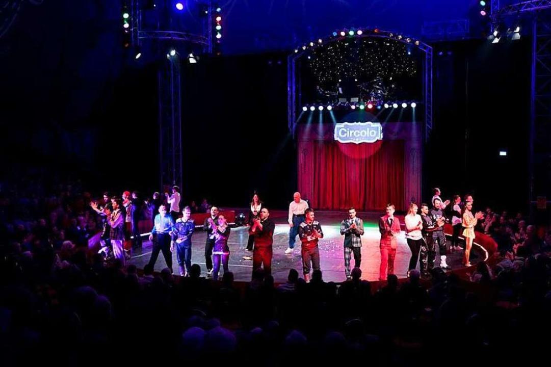 Die Artisten des Circolo begeistern jedes Jahr aufs Neue das Publikum!    Foto: Circolo Freiburg