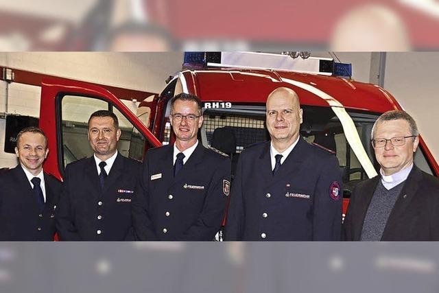 Neues Fahrzeug für Rheinhausener Wehr