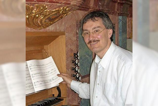 Orgelkonzert mit Dieter Lämmlin in Rheinfelden
