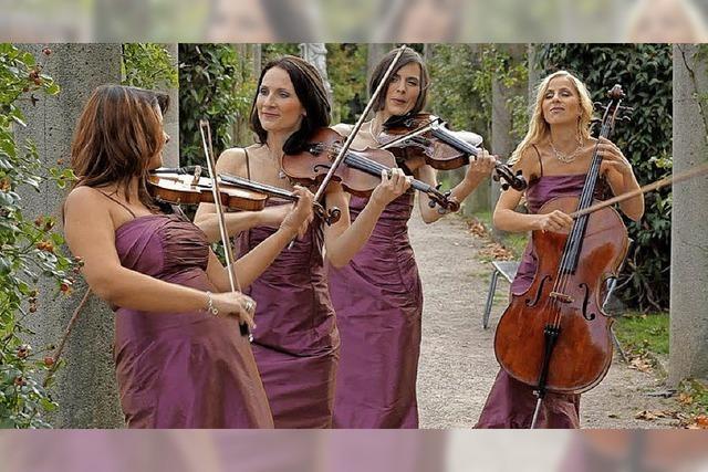 Damenstreichquartett Manon & Co zu Gast in Badenweiler