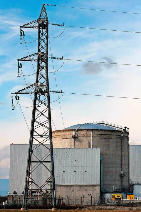 Das Atomkraftwerk in Fessenheim  | Foto: AFP