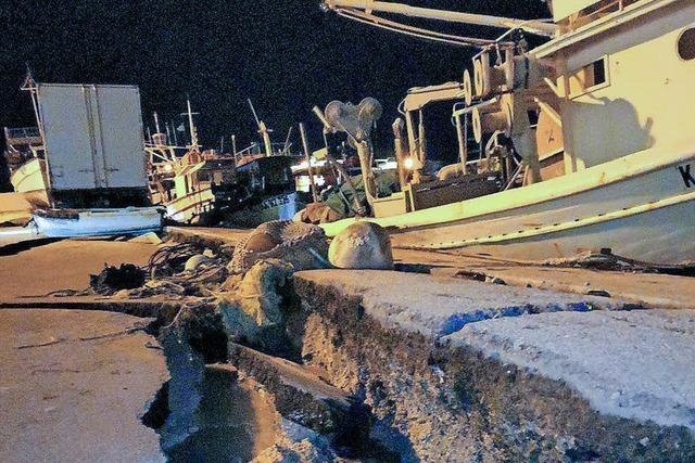 Starkes Seebeben vor Griechenland