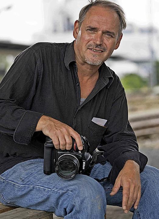 Portrait des Fotografen Lutz P. Kayser  | Foto: Guido J. Wasser