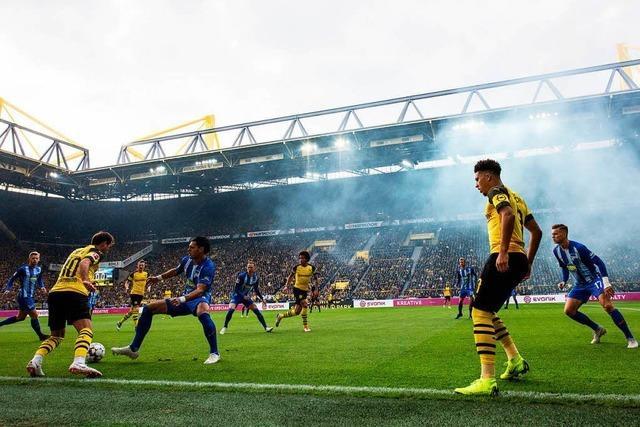 Dortmund spielt nur 2:2-Unentschieden gegen Berlin