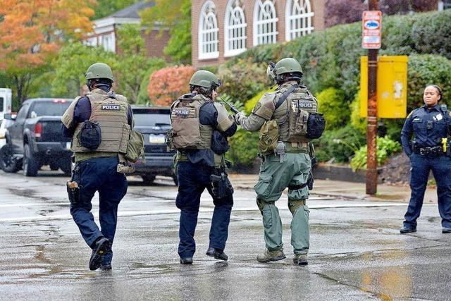 Elf Tote nach antisemitischem Angriff auf Synagoge in Pittsburgh