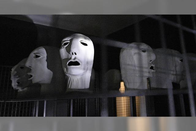 BZ-Leserinnen und Leser konfrontierten im Museum für Neue Kunst Geister