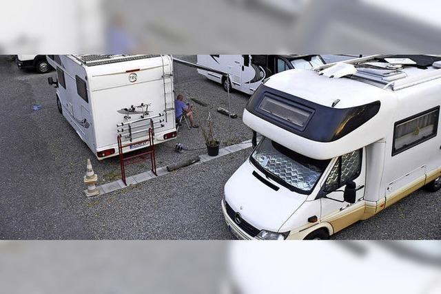Reisemobiltouristen werden Freiburg künftig meiden