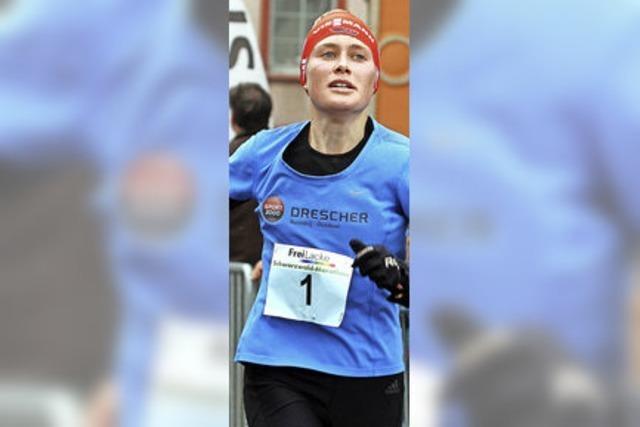 Stefanie Doll läuft Marathon-Bestzeit