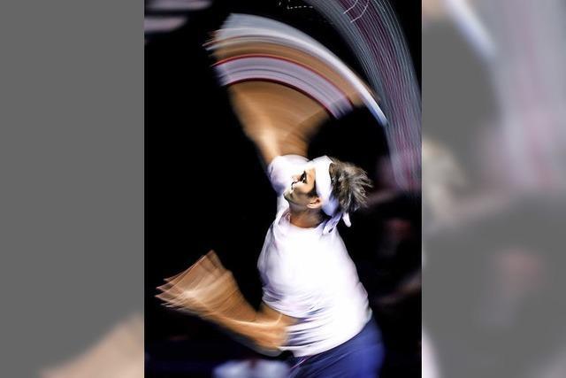 Federer gewinnt Swiss Indoors