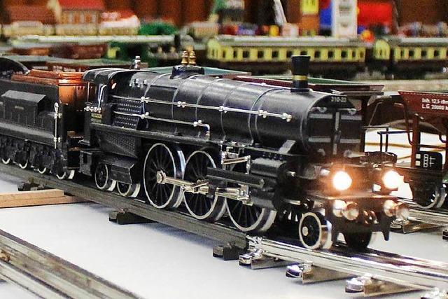 Eisenbahnfreunde Wehratal zeigten im Haus der Begegnung zehn Anlagen zu ihrer Jahresausstellung