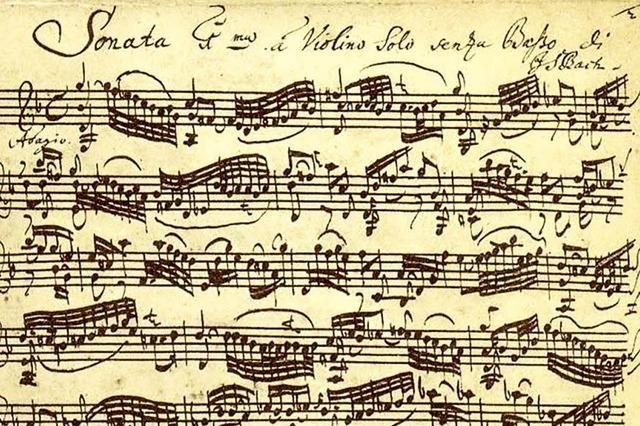 Das (Un)Fassbare an Bach