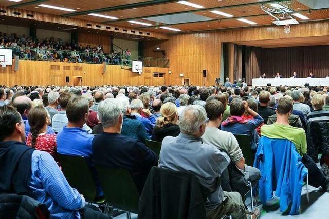 1700 Endinger wollten die Bürgermeisterkandidaten kennenlernen