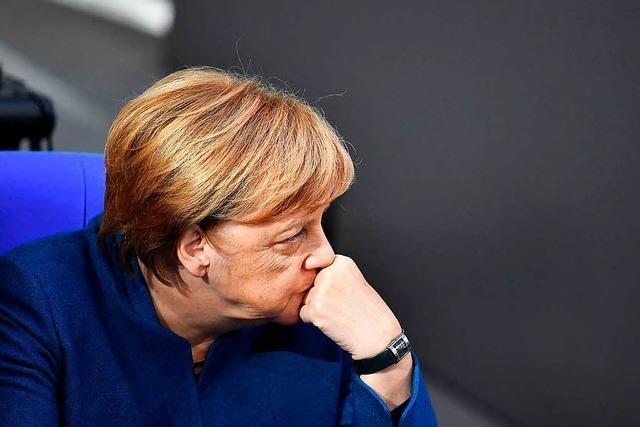 Merkel war zuletzt bloß noch eine Getriebene im Meer der Krisen