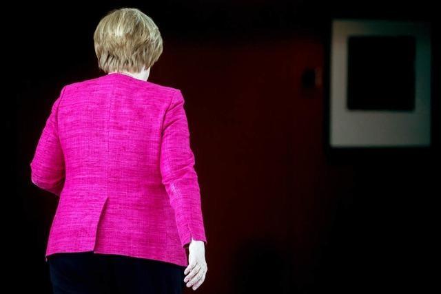 Angela Merkel will nach der Legislaturperiode auch das Kanzleramt aufgeben