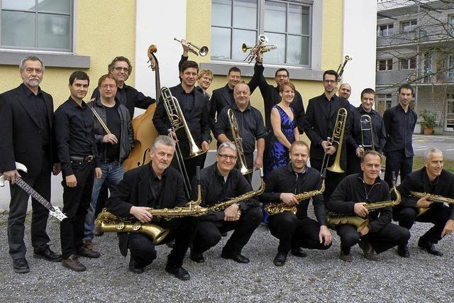 Big Sound Orchestra konzertiert mit Trompeter Bert Joris in Lörrach, Rheinfelden und Grenzach