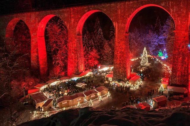 Weihnachtsmarkt in der Ravennaschlucht – der Vorverkauf beginnt
