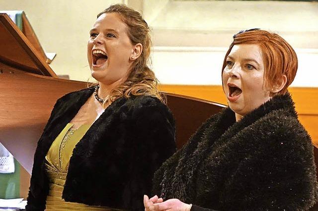 Hommage an zwei Operndiven