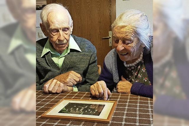 Seit 60 Jahren auf dem gemeinsamen Lebensweg