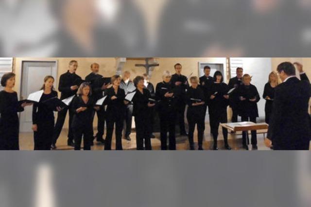 Chor Viva Voce bringt die Stadtkirche zum Klingen