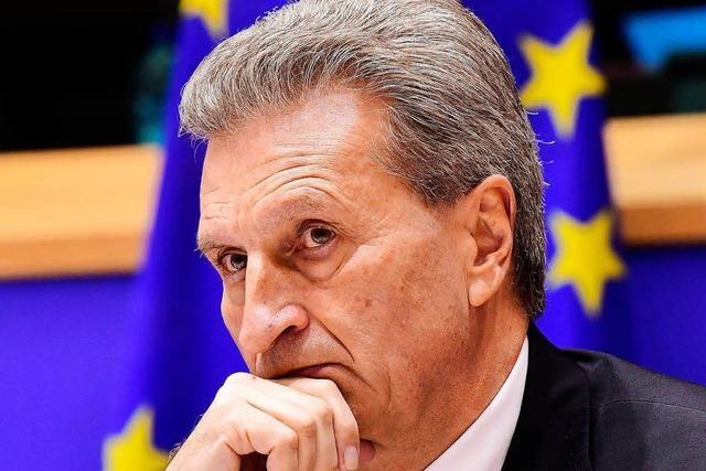 Günther Oettinger: