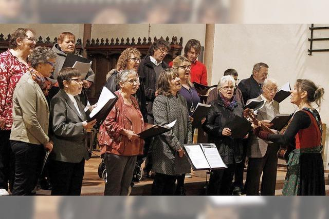 10 Jahre Café-Löffel-Chor