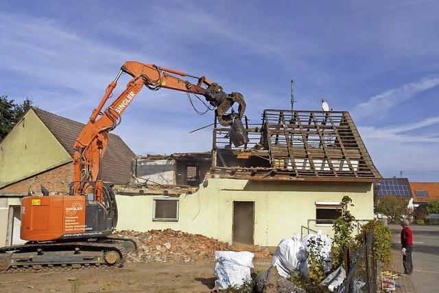 Ehemaliges Scherer-Haus wird abgerissen