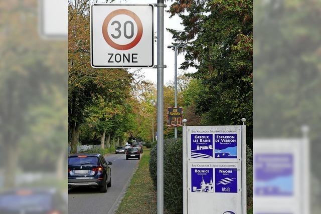Tempo-30-Zone ausgeweitet