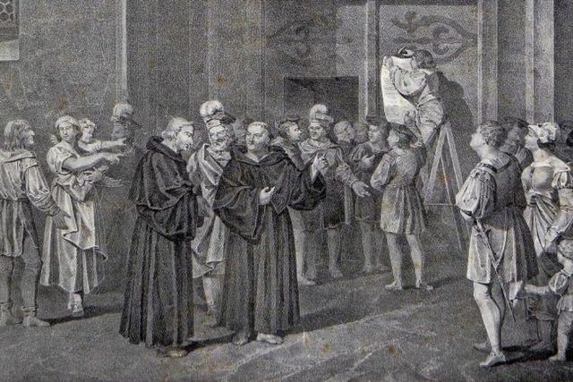 Pfarrer als angeblicher Rädelsführer