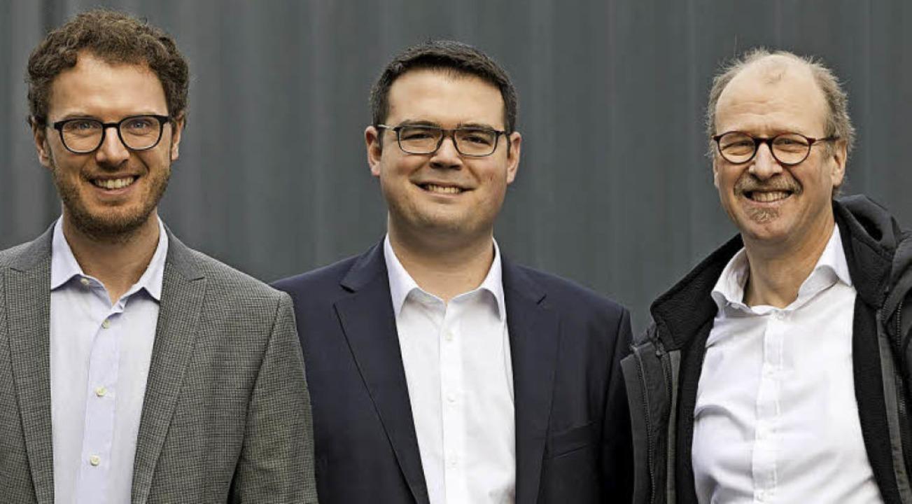 Die Ondosense-Gründer (von links): Mat...hard Schöne-Remmeau und Axel Hülsmann   | Foto: Privat