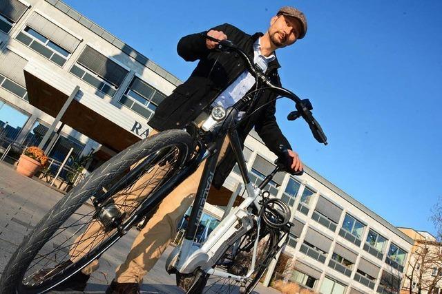 Wie das Weiler Rathaus seine Mitarbeiter aufs Fahrrad bringen will