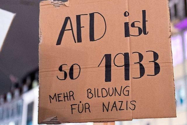 Fotos: Demonstrationen nach Gruppenvergewaltigung in Freiburg
